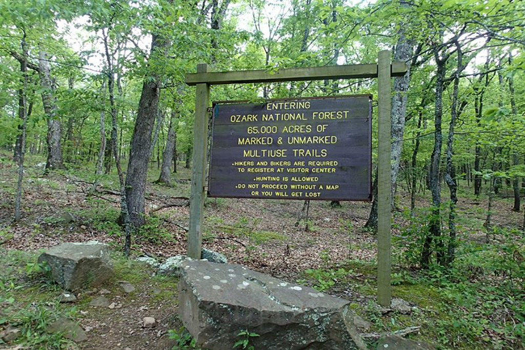 Hiking The OHT In Arkansas – A Pack and A Map