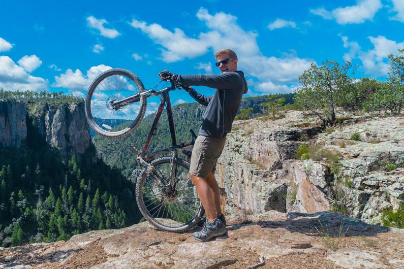 Mountain Biking In Creel, Mexico