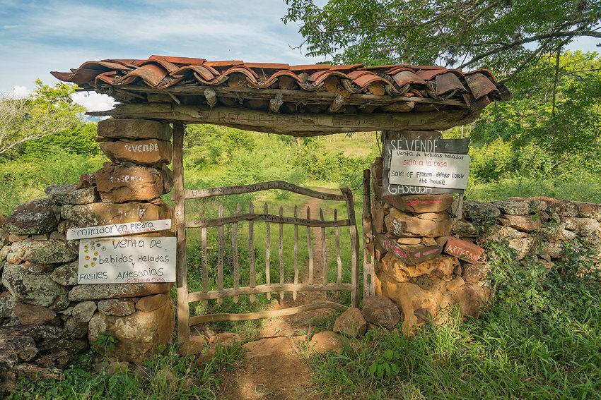 Entrance To The Mirador