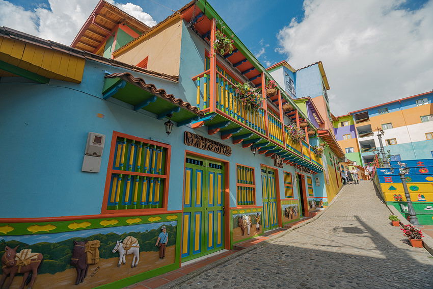 The Colorful Town Of Guatape