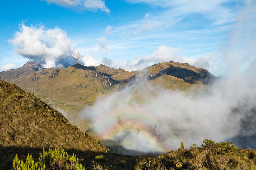 Hiking Into Parque Nacional Los Nevados Without A Guide