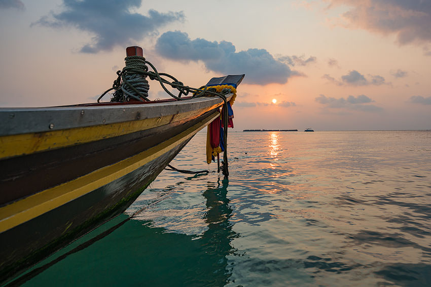 Beautiful Sunsets In Koh Tao, Thailand