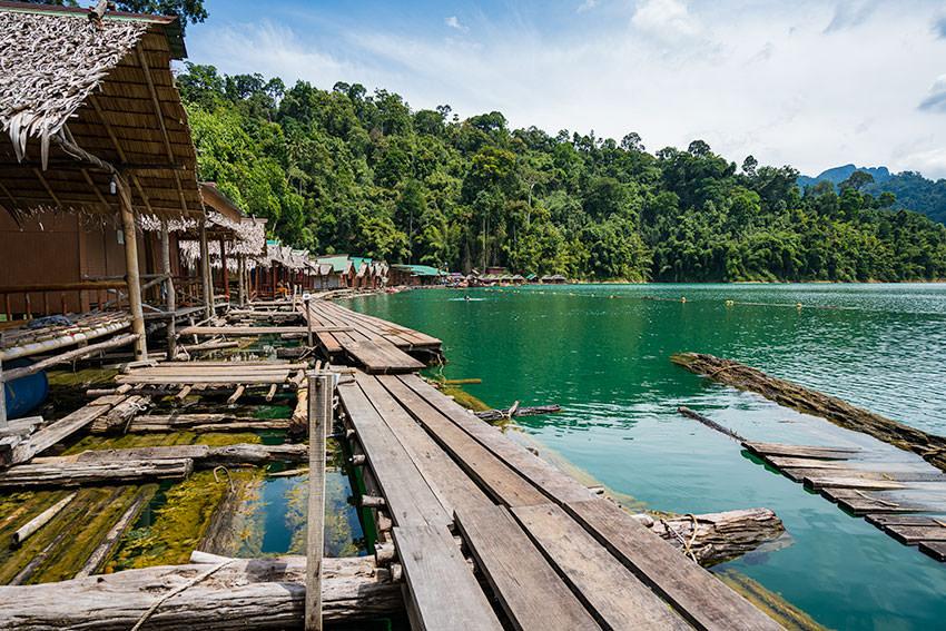 The Floating Bungalows Khao Sok, Thailand