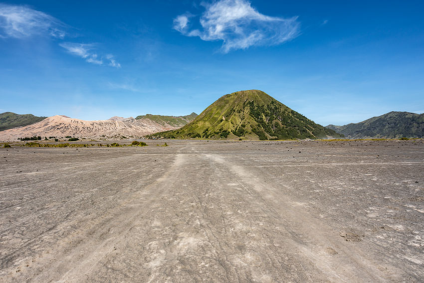Crossing The Sea Of Sand Mount Bromo, Indonesia