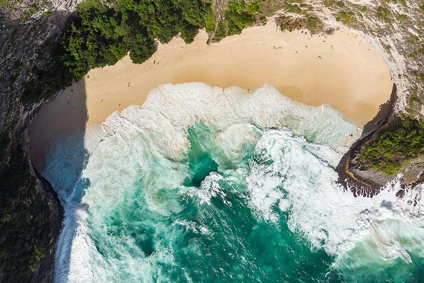 Kelingking Secret Beach Nusa Penida, Bali