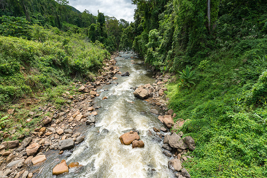 The Xe Namnoy River, Laos