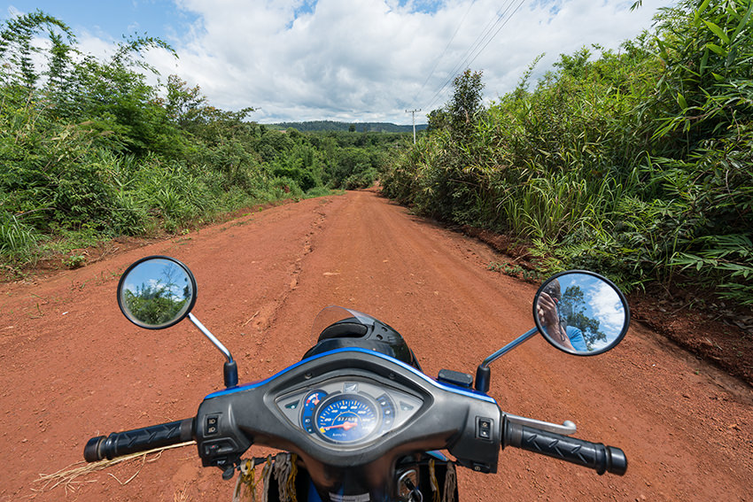 On That Red Dirt Road, Laos