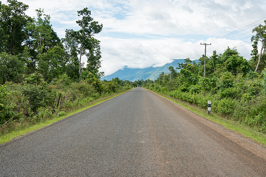 The Final Stretch On The Bolaven Plateau Loop, Laos