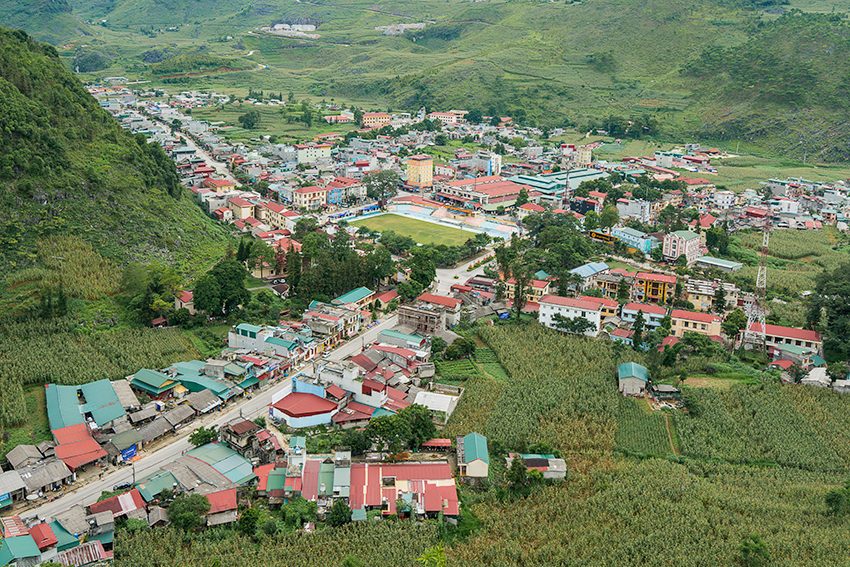 The Town Of Meo Vac, Vietnam