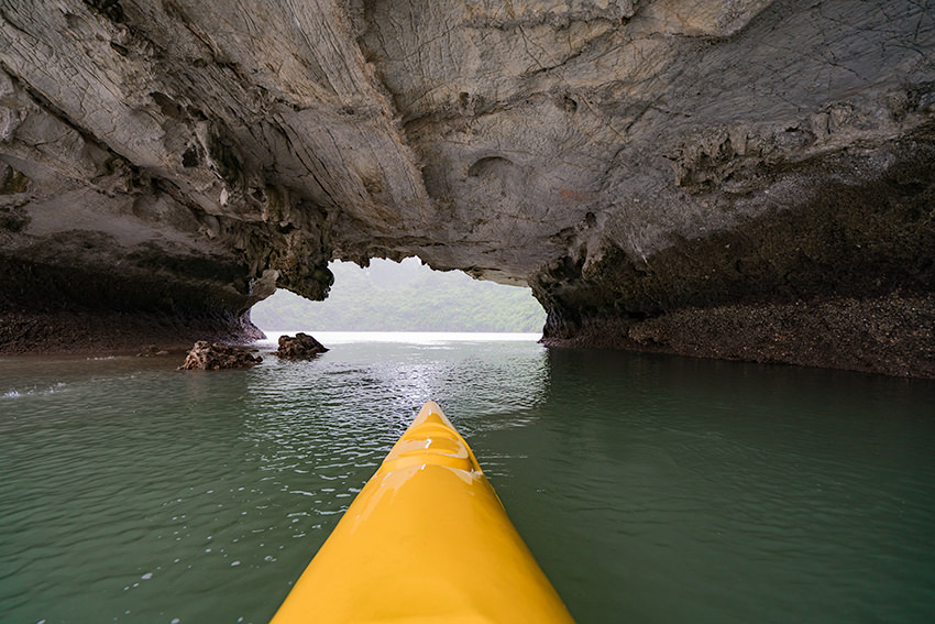 Cave Kayaking Halong Bay, Vietnam