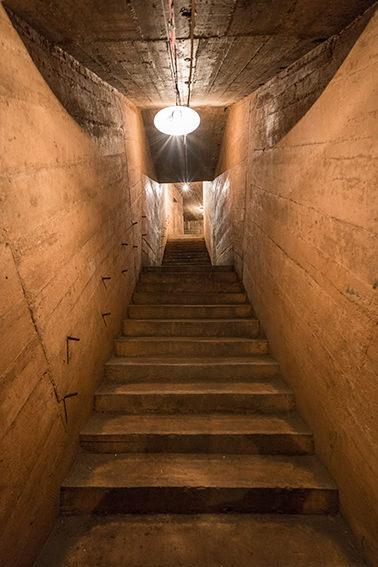 Cave Hospital Stairway, Vietnam