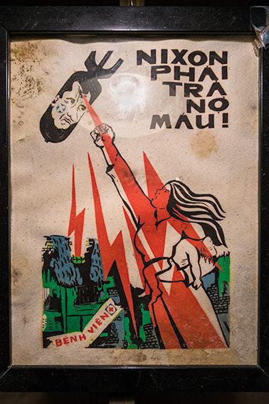 Nixon Propoganda Poster, Vietnam