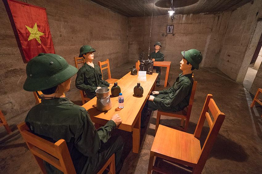 Hospital Cave War Room Cát Bà Island, Vietnam