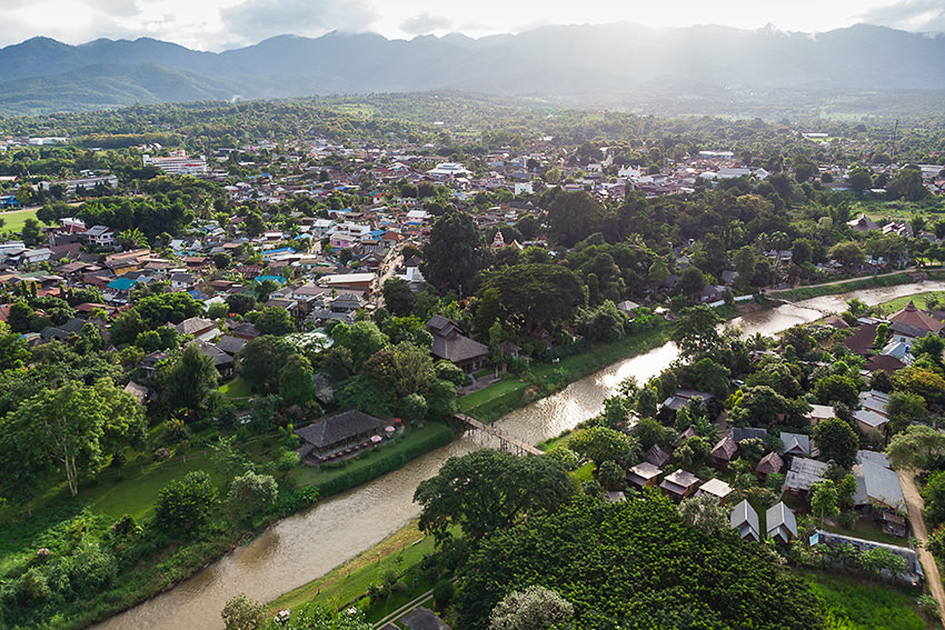 The Town Of Pai, Thailand