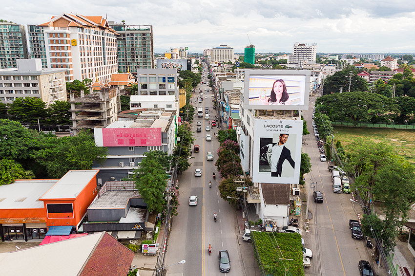 The City Of Chiang Mai, Thailand